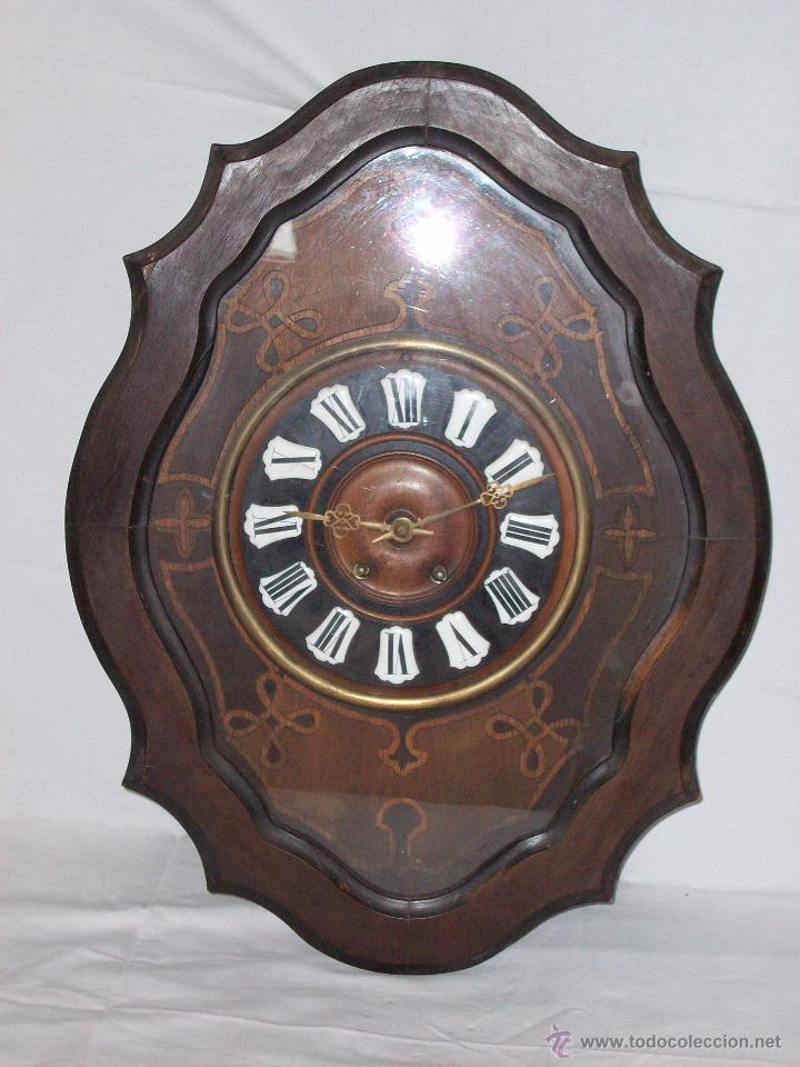 Relojes de pared: RELOJ DE PARED ANTIGUO - Foto 3 - 46663446