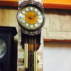 Relojes de pared: RELOJ DE PARED MAQUINA ALEMANA. Lote 46919167