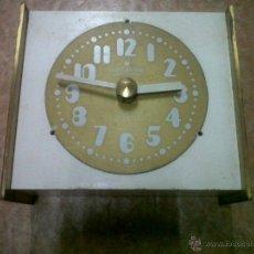 Relojes de pared: ANTIGUO RELOJ DE METAL MARCA JUNGHANS ELECTRONIC ATO-MAT GERMANY. Lote 46981061