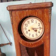 Relojes de pared: VIEJO RELOJ DE PARED. AÑOS 40. PARA RESTAURAR. GRAN TAMAÑO.. Lote 47190564