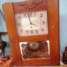 Relojes de pared: VIEJO RELOJ DE PARED. AÑOS 50. PARA RESTAURAR.. Lote 47194321
