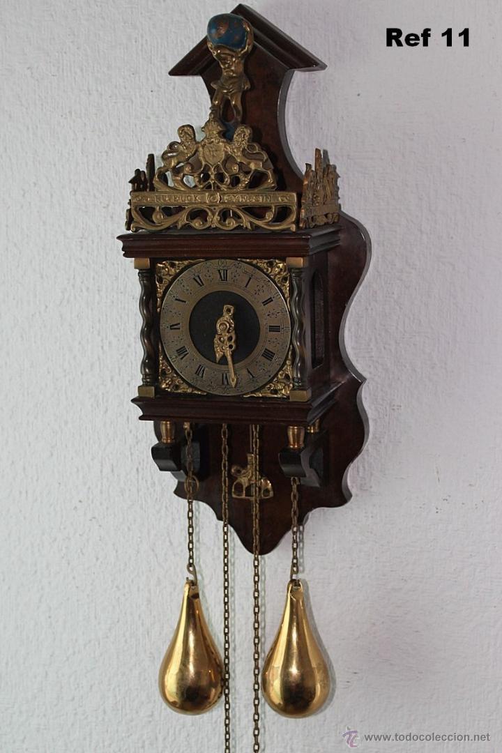 Vintage holandes reloj de pared tipo zaanse comprar - Reloj de pared vintage ...
