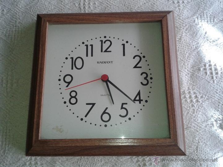 reloj de pared quartz modelo radiant con marco - Comprar Relojes ...