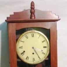 Relojes de pared: RELOJ ANTIGUO DE PARED , SIGLO XIX. Lote 47499818