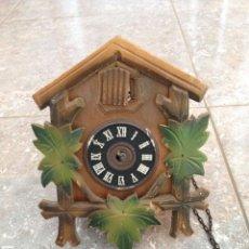 Relojes de pared: RELOJ CUCO MADERA. Lote 47516654