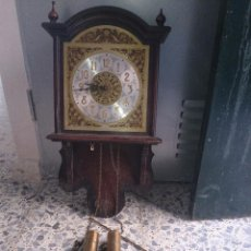 Relojes de pared: RELOJ DE PARED LEER. Lote 48226525