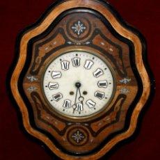 Relojes de pared: BONITO RELOJ OJO DE BUEY DEL SIGLO XIX. Lote 48448717