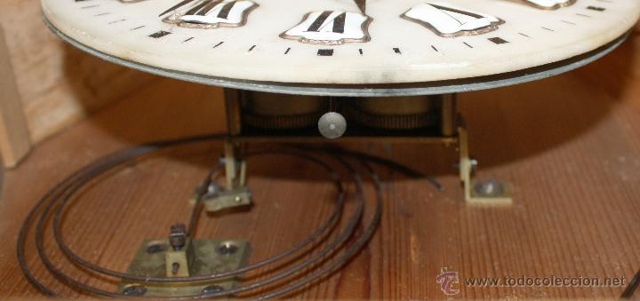 Relojes de pared: BONITO RELOJ OJO DE BUEY DEL SIGLO XIX - Foto 4 - 48448717