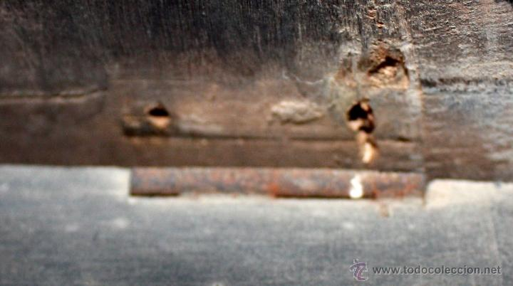 Relojes de pared: BONITO RELOJ OJO DE BUEY DEL SIGLO XIX - Foto 5 - 48448717