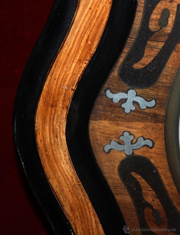 Relojes de pared: BONITO RELOJ OJO DE BUEY DEL SIGLO XIX - Foto 9 - 48448717