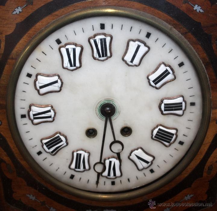 Relojes de pared: BONITO RELOJ OJO DE BUEY DEL SIGLO XIX - Foto 10 - 48448717