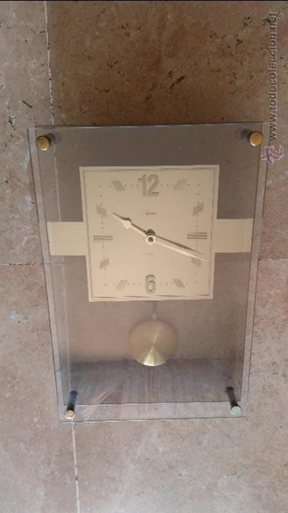 RELOJ PARED DE CRISTAL (Relojes - Pared Carga Manual)