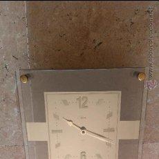 Relojes de pared: RELOJ PARED DE CRISTAL. Lote 48749418