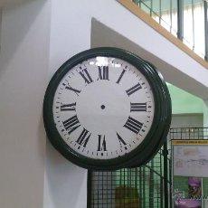 Relojes de pared: RELOJ DE ESTACION ORIGINAL. Lote 48884019