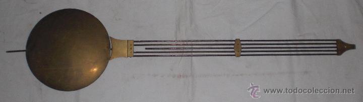 ANTIGUO PENDULO DE RELOJ DE PARED 1900 (Relojes - Pared Carga Manual)