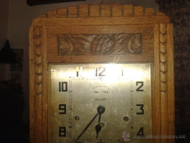 Relojes de pared: Reloj de Pared Antiguo Sam,s Clock ,Webminster - Foto 2 - 49664218