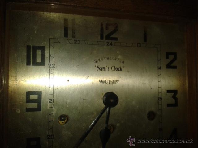 Relojes de pared: Reloj de Pared Antiguo Sam,s Clock ,Webminster - Foto 12 - 49664218