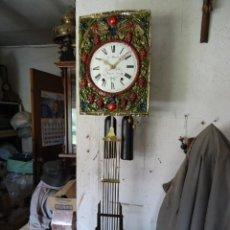 Relojes de pared: RELOJ PARED MOREZ PENDULO 7 VARILLAS, S XX, FUNCIONANDO. Lote 49931902