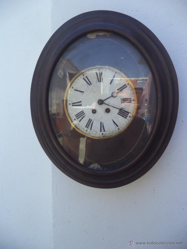 RELOJ DE PARED AMERICANO OVALADO (Relojes - Pared Carga Manual)