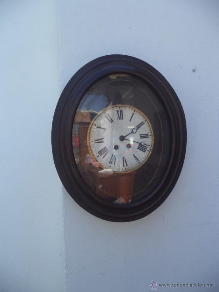 Relojes de pared: reloj de pared americano ovalado - Foto 2 - 50165637