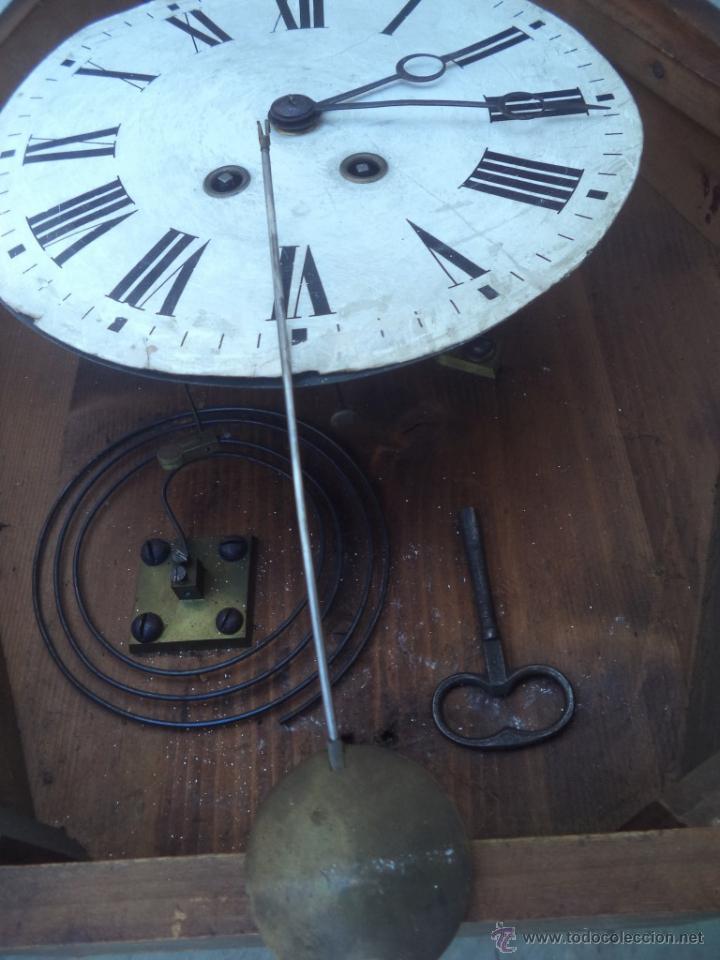 Relojes de pared: reloj de pared americano ovalado - Foto 3 - 50165637