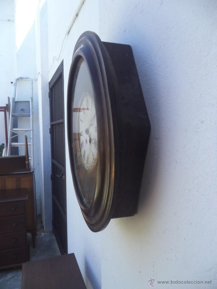 Relojes de pared: reloj de pared americano ovalado - Foto 5 - 50165637
