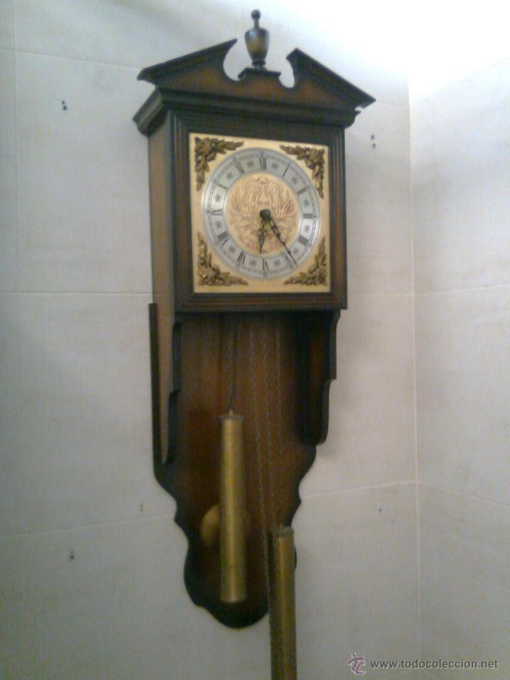 Antiguo reloj de pared tempus fugit telcro comprar relojes antiguos de pared carga manual en - Relojes pared antiguos ...