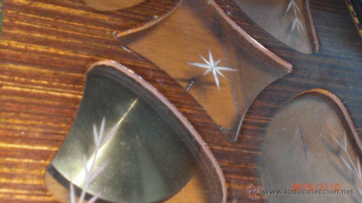 Relojes de pared: RELOJ PARED CARGA MANUAL LLAVE CUERDA VALY GIJON JOYERIA CON PENDULO CRISTAL MADERA CALIDAD - Foto 3 - 117220952