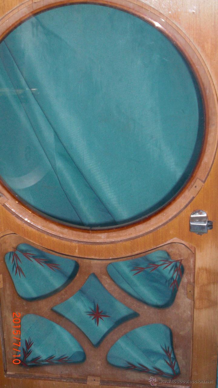 Relojes de pared: RELOJ PARED CARGA MANUAL LLAVE CUERDA VALY GIJON JOYERIA CON PENDULO CRISTAL MADERA CALIDAD - Foto 4 - 117220952