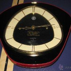 Relojes de pared: RELOJ DE PARED AÑOS 50 MARCA SMI FABRICACION FRANCESA 23 X 23 CTMS. FUNCIONANDO DECORACION 50´S. Lote 50331240