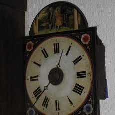 Relojes de pared: RELOJ DE PESAS I PENDULO SIGLO XIX. Lote 50837647