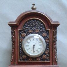 Relojes de pared: PRECIOSA REPLICA DE RELOJ ANTIGUO INGLES ,MUY BONITO.. Lote 51014509