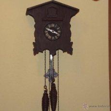 Relojes de pared: RELOJ CUCU HECHO EN GDR,TOTALMENTE MECÁNICO Y FUNCIONAL.ESPECIAL PARA COLECCIONISTAS.. Lote 51239146