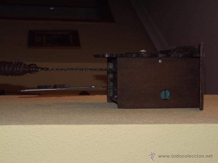 Relojes de pared: RELOJ CUCU HECHO EN GDR,TOTALMENTE MECÁNICO Y FUNCIONAL.ESPECIAL PARA COLECCIONISTAS. - Foto 6 - 51239146