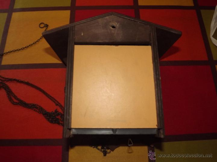 Relojes de pared: RELOJ CUCU HECHO EN GDR,TOTALMENTE MECÁNICO Y FUNCIONAL.ESPECIAL PARA COLECCIONISTAS. - Foto 9 - 51239146