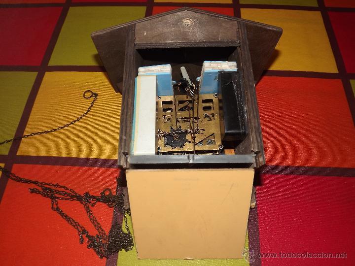 Relojes de pared: RELOJ CUCU HECHO EN GDR,TOTALMENTE MECÁNICO Y FUNCIONAL.ESPECIAL PARA COLECCIONISTAS. - Foto 10 - 51239146