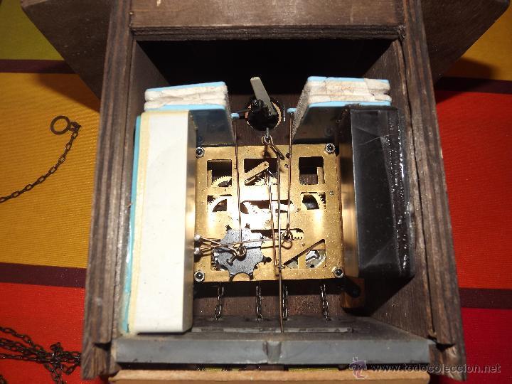 Relojes de pared: RELOJ CUCU HECHO EN GDR,TOTALMENTE MECÁNICO Y FUNCIONAL.ESPECIAL PARA COLECCIONISTAS. - Foto 11 - 51239146