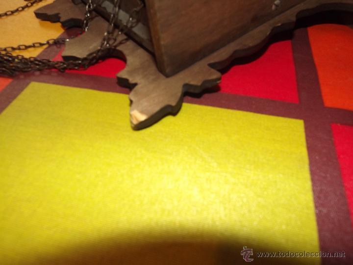 Relojes de pared: RELOJ CUCU HECHO EN GDR,TOTALMENTE MECÁNICO Y FUNCIONAL.ESPECIAL PARA COLECCIONISTAS. - Foto 12 - 51239146