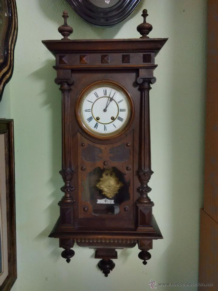 Reloj regulador lenzkirch comprar relojes antiguos de pared carga manual en todocoleccion - Relojes pared antiguos ...