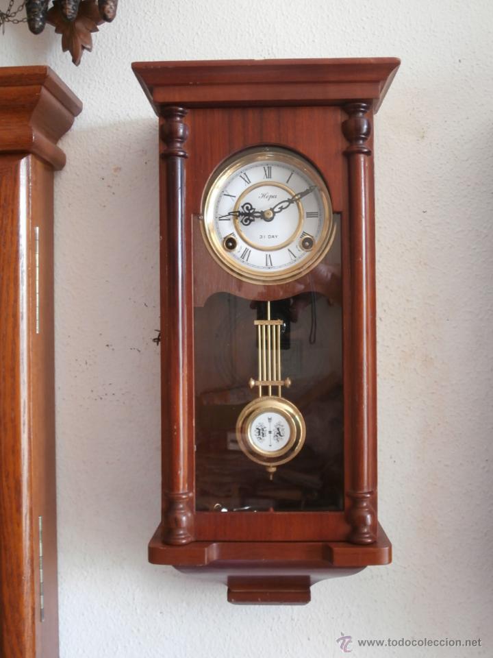 Relojes de pendulo de pared cuerda - Relojes pared antiguos ...