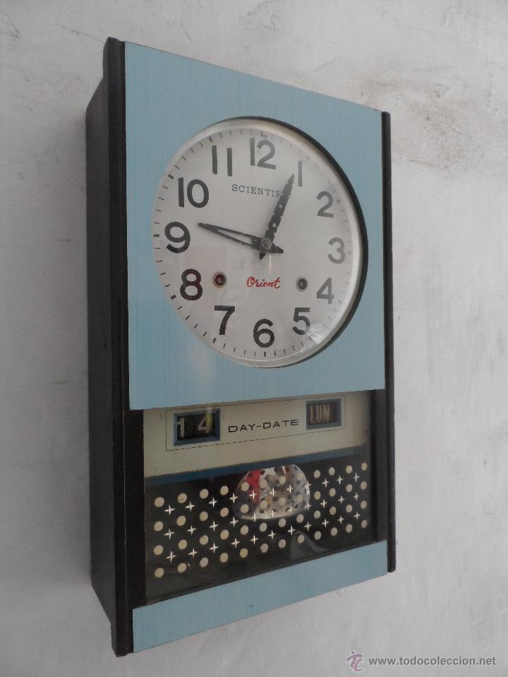 Reloj Carillon Vintage A Cuerda Scientific Orie Comprar