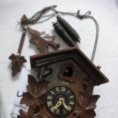 Relojes de pared: ANTIGUO RELOJ DE CUCO PARA RESTAURAR O COMO DONANTE. Lote 52766980