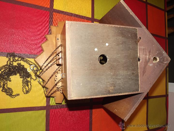 Relojes de pared: RELOJ CUCU-CUCO MUSICAL CON BAILARINES Y RUEDA DE MOLINO MÓVIL. - Foto 9 - 112569743