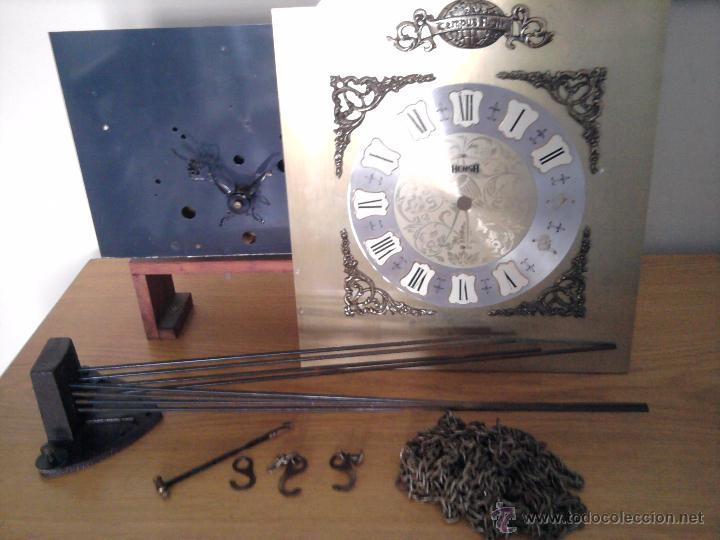 Antiguo reloj de pared tempus fugit hersa mec comprar - Mecanismo reloj pared ...
