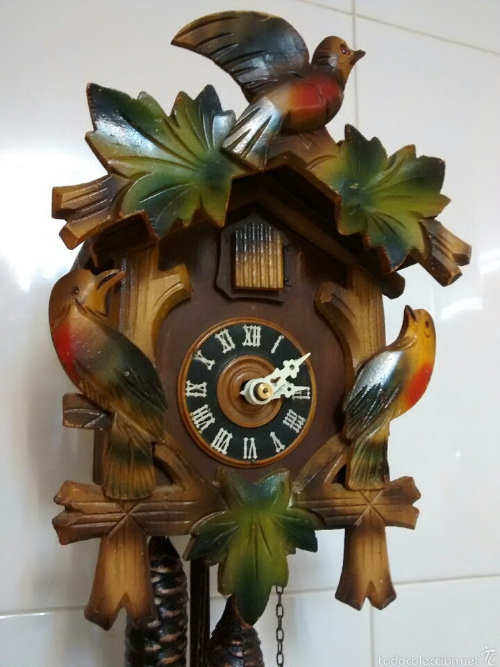Reloj De Cuco Reloj Pared Cucu Mecanico Alem Sold Through Direct Sale 53392568