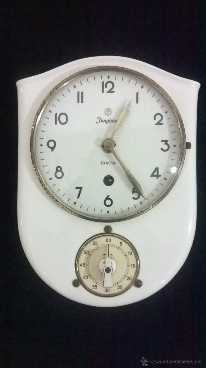 Reloj de cocina junghans de 1950 comprar relojes - Relojes pared cocina ...