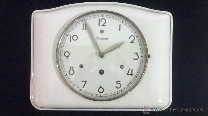 Reloj de cocina junghans de 1950 comprar relojes antiguos de pared carga manual en - Relojes de pared de cocina ...