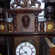 Relojes de pared: RELOJ DE PARED MÁQUINA PARIS . EN PRECIOSA CAJA Y FUNCIONANDO. Lote 53587298