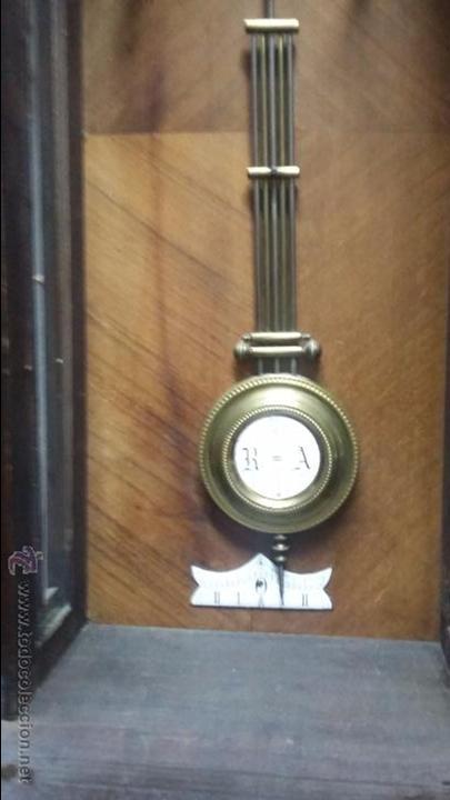 Relojes de pared: RELOJ DE PARED MÁQUINA PARIS . EN PRECIOSA CAJA Y FUNCIONANDO - Foto 2 - 53587298