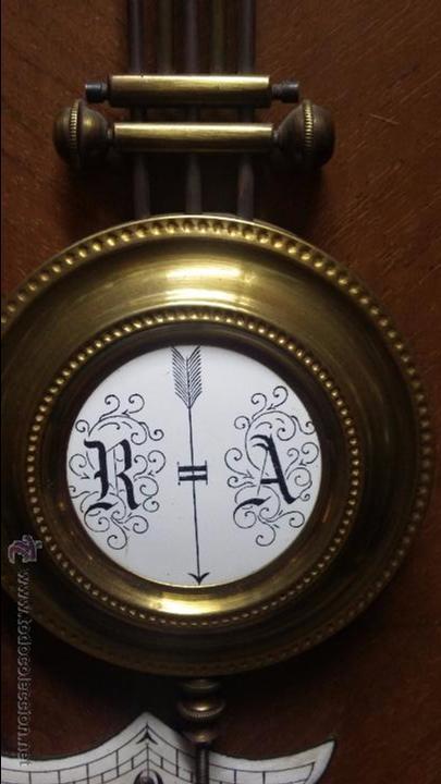 Relojes de pared: RELOJ DE PARED MÁQUINA PARIS . EN PRECIOSA CAJA Y FUNCIONANDO - Foto 5 - 53587298